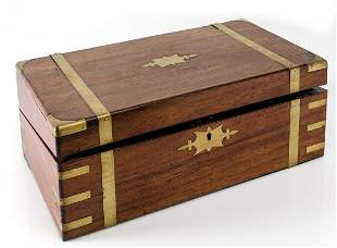 19th century English writing desk box