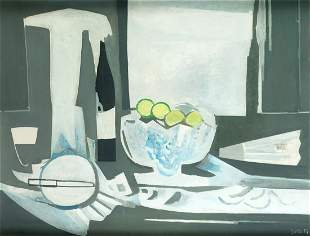 "FRANCISCO BORES (1898 / 1972) ""Composition with"
