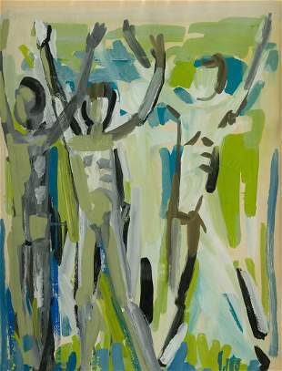 "PABLO GAGO (1926 / .) ""Composition"""