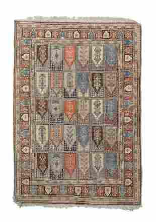 Baktiari silk carpet