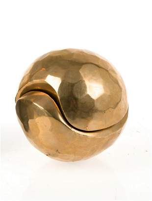"PABLO SERRANO AGUILAR (1910 / 1985) ""Unit - Polyhedral"