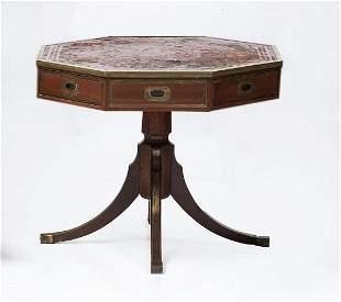 Octagonal gaming table