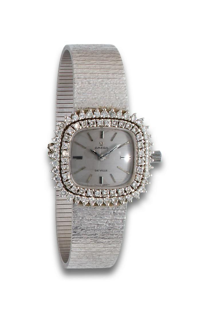 Omega watch jewel diamonds