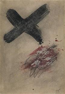 "ANTONI TÀPIES (1923 / 2012) ""No title"", c.1970"