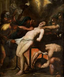 """FLAMENCO SCHOOL (XVII / XVIII) """"Martyrdom of St"""