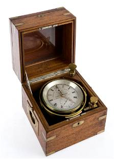 Marine watch with stopwatch