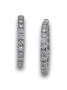 HOOPS WHITE GOLD