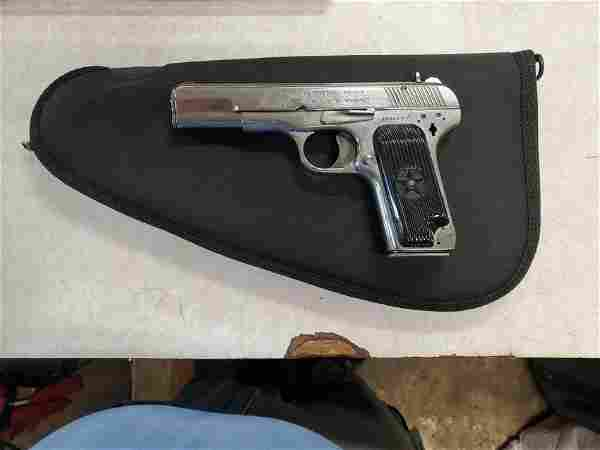 9mm NORINCO PISTOL without safety TRIANGLE 66