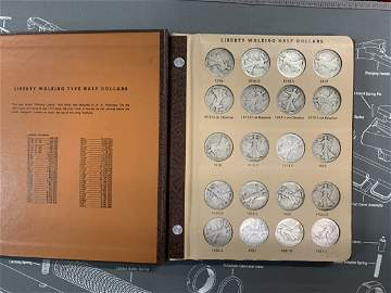 WALKING LIBERTY ALL 65, 1916 - 1947 All Dates & Mint