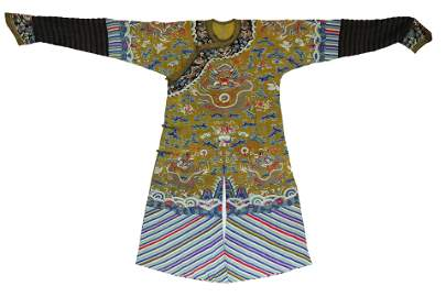 A CHINESE DRAGON ROBE