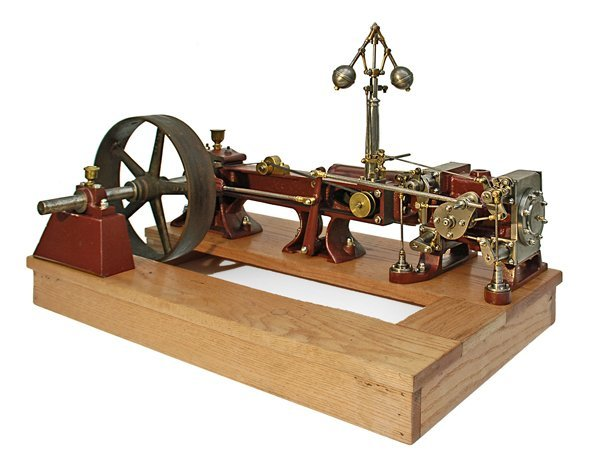 7: A FINE LARGE CORLISS STEAM ENGINE