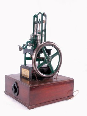 16: FINE MODEL OF AN 1837 ENGLISH STEAM TABLE ENGINE