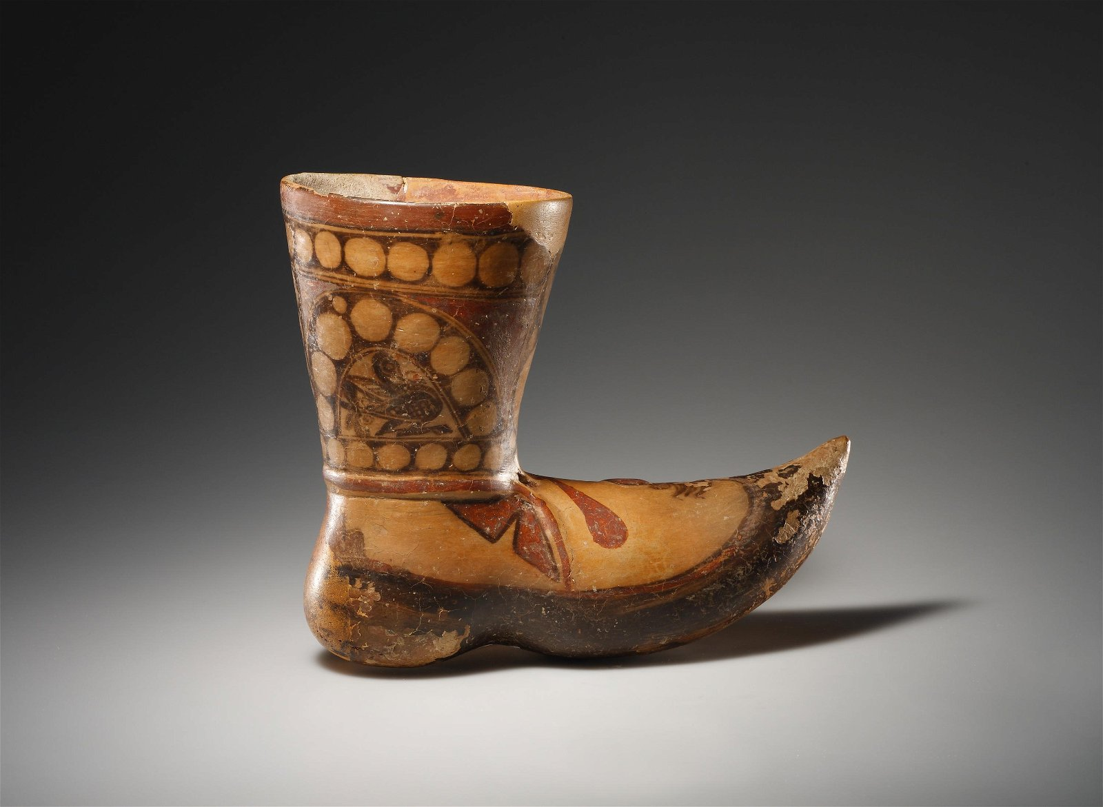 A Rhyton in the Form of a Boot
