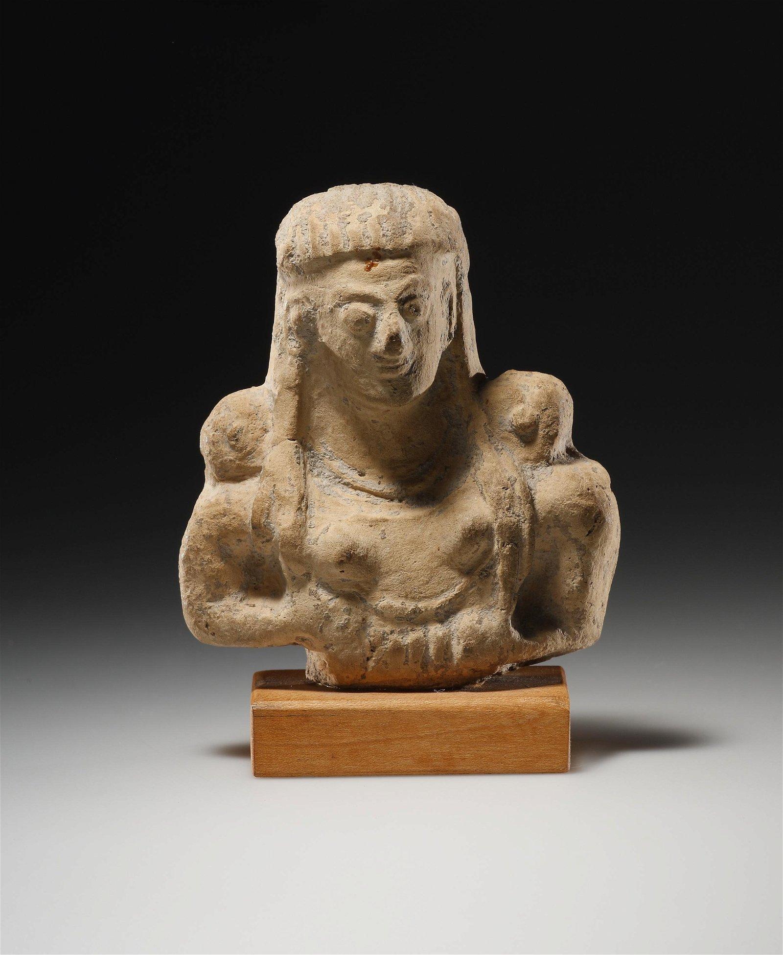 An Upper Body Fragment of a Goddess