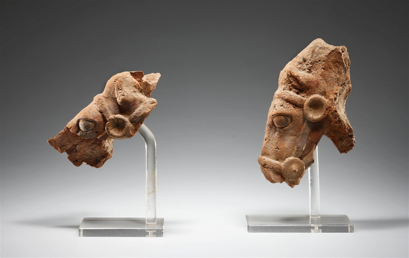 Two Fragments of Horses' Heads