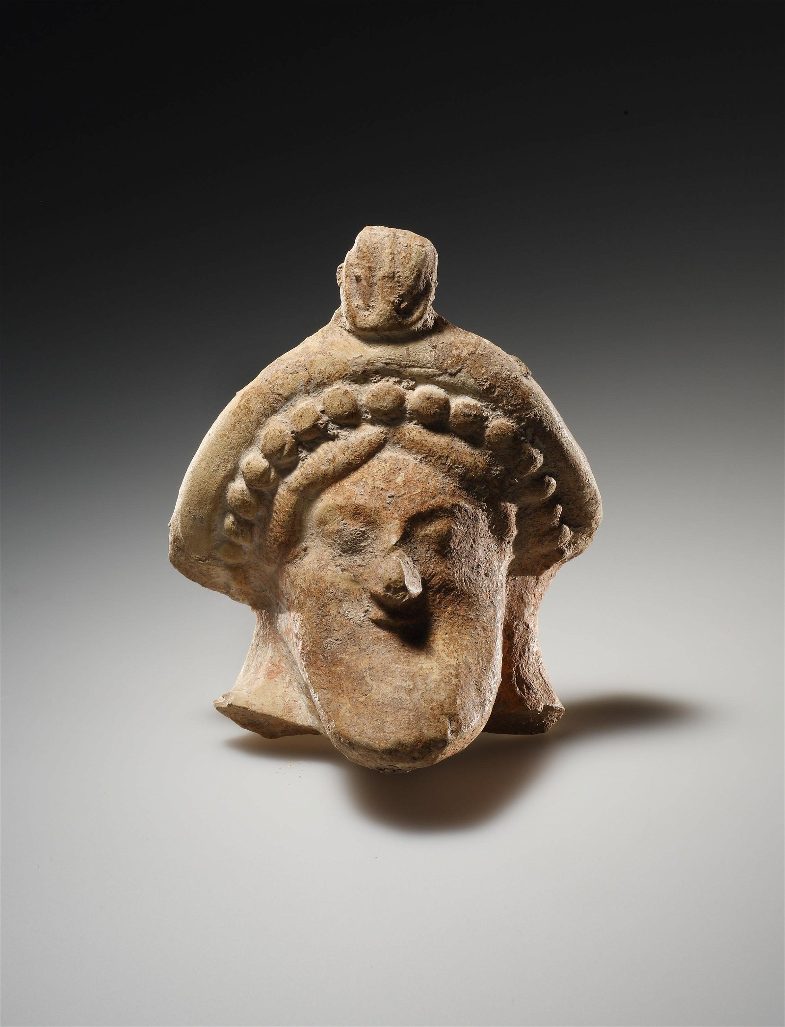 A Head of Dionysos or of a Symposiast