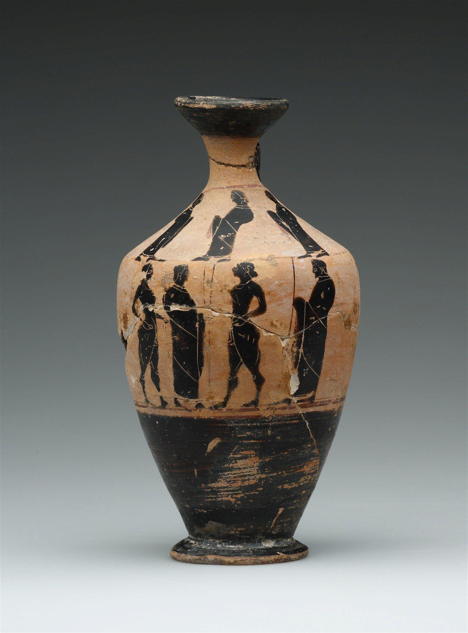A Black-Figure Lekythos