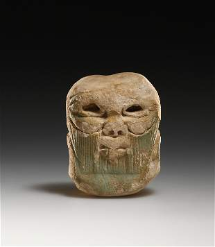A Head of the God Bes