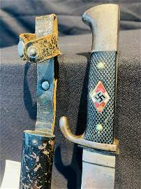 Hitler youth member knife Nazi pre-WWII Era with motto