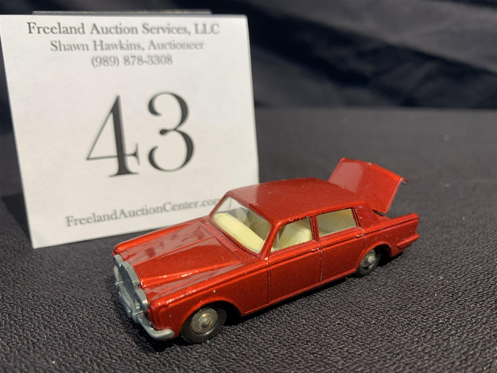 MATCHBOX Series No 24 ROLLS ROYCE SILVER SHADOW Made in