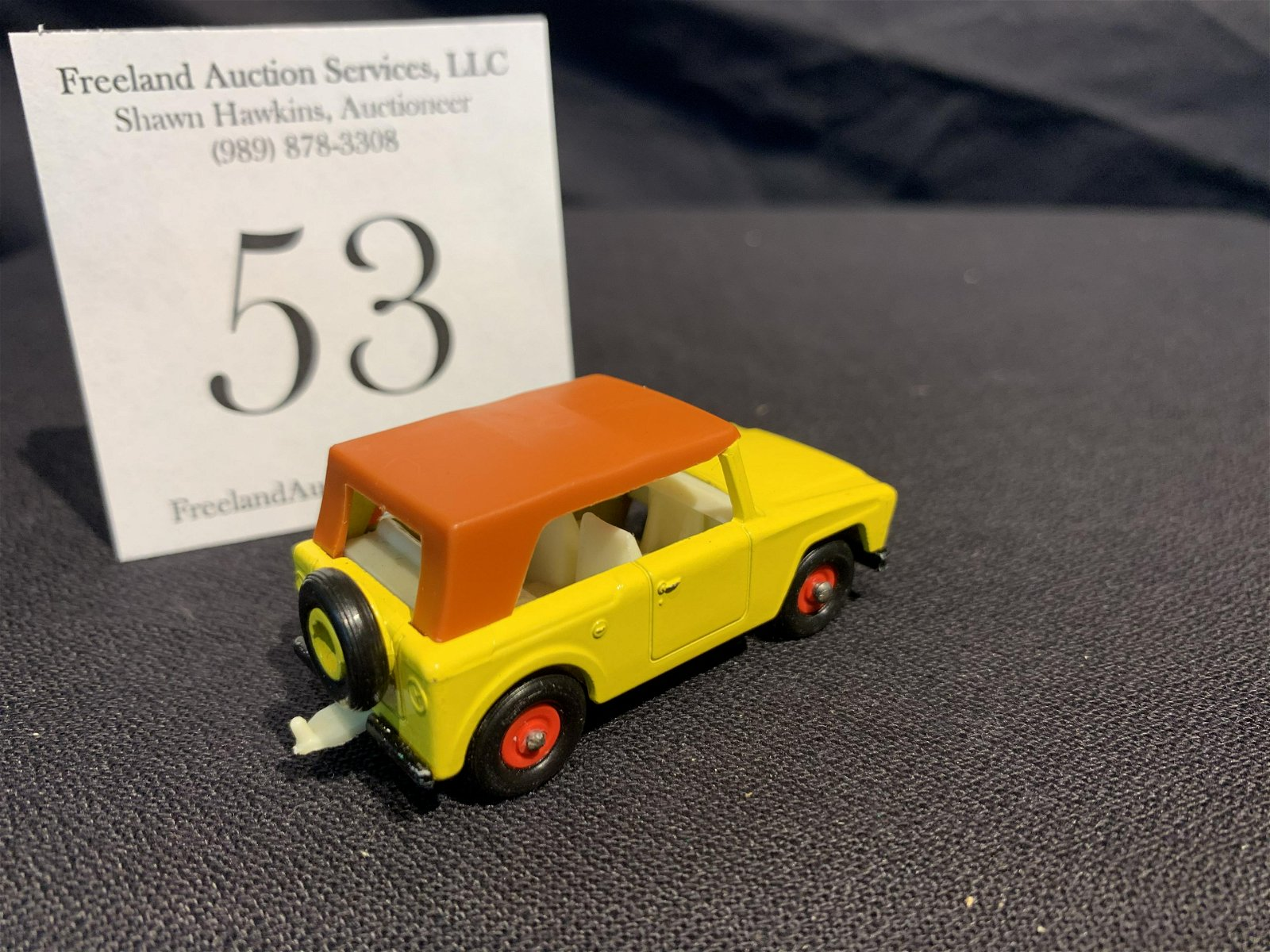 Matchbox Series No 18 FIELD CAR Made in England by