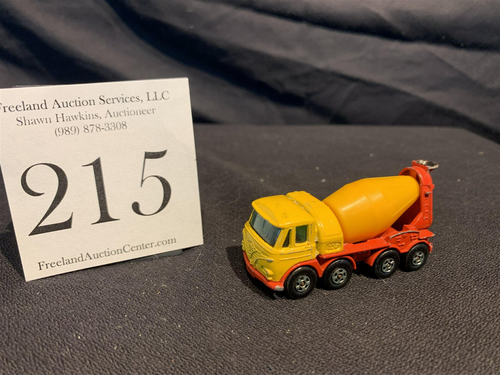 Made in England Lesney FODEN Concrete Truck Matchbox