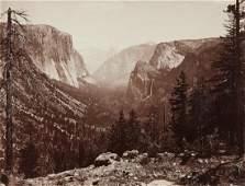 WATKINS Yosemite Valley rich Mammoth Albumen 1866