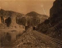 W H JACKSON Mammoth Train View Glenwood Col 1884