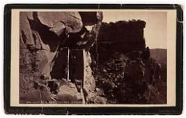 W H JACKSON Cliff Ruin at Mesa Verde 1874