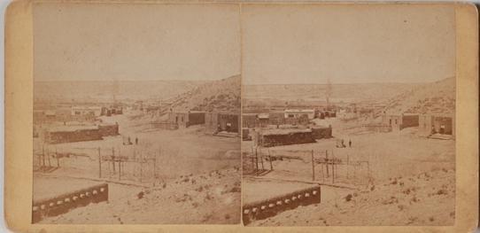 4 Early BIRDSEYE PANORAMIC VIEWS OF SANTA FE 1880