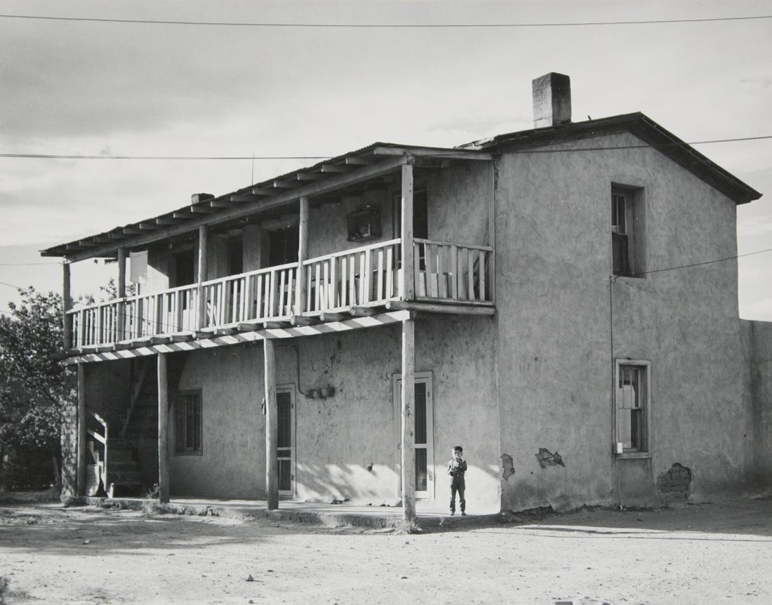 LAURA GILPIN ADOBE HOUSE DOWNTOWN SANTA FE 1949