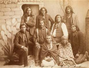 MOJAVE INDIAN WITNESSES AT A MURDER TRIAL Los Angeles