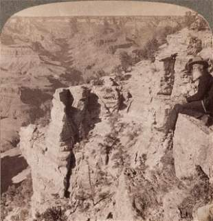 GRAND CANYON BOXED STEREOSCOPE SET OF 18, 1908
