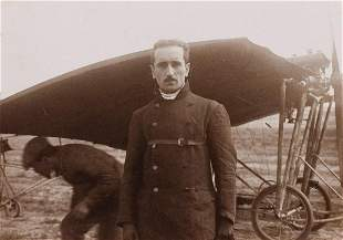 2 VERNACULAR VIEWS AVIATORS Ca. 1910