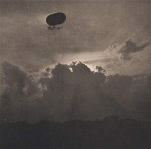 ALFRED STIEGLITZ Dirigible 1910 Masterpiece