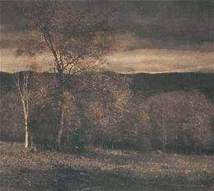 EDWARD STEICHEN Landscape in Two Colors 1906