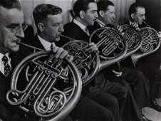MARGARET BOURKE WHITE Life NY Philharmonic 1938
