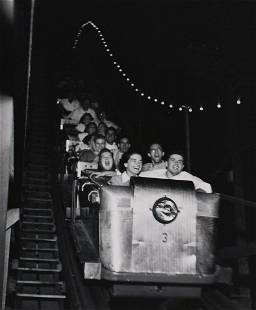 GORDON PARKS Rollercoaster Ct 1949 vintage print