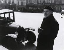 ROBERT DOISNEAU Mark Tobey, painter 1955