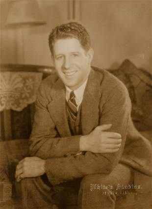 CLARENCE WHITE  Rudy Vallee 1920s Heartthrob