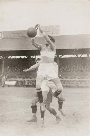 MARTIN MUNKASCI Soccer Match, Budapest 1924