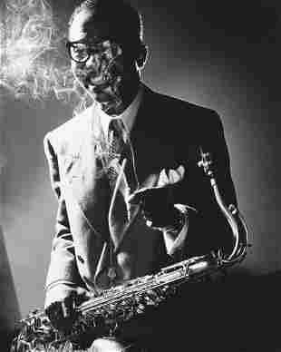 HERMAN LEONARD James Moody, New York 1951