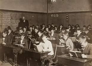 LEWIS HINE Vintage Immigrants Boston 1908