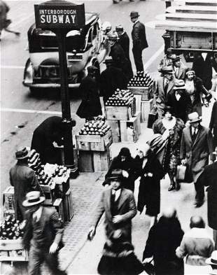 3 Photos Apple Seller Labor Leaders 1916 - 1950s