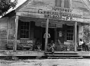 MARION POST WOLCOTT Store, Plantation LA. 1940