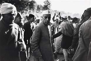 HENRI CARTIER-BRESSON Nehru Day after Gandhi Died 1948