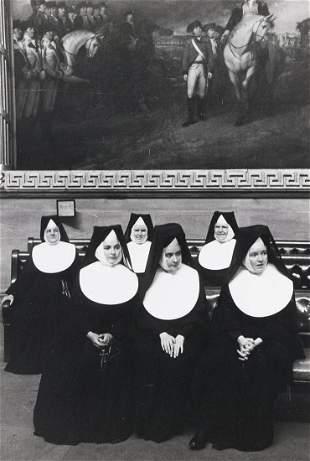 HENRI CARTIER-BRESSON Nuns in the Capital, Washington