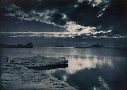 HERBERT PONTING Midnight in the Antarctic Summer