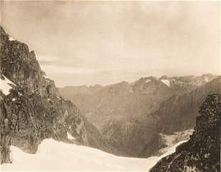 STUNNING PANORAMA Rwenzori from Edward Peak 1906