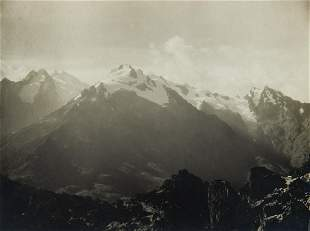 2 GLORIOUS VIEWS Mt. Stanley & Mt. Speke, 1906